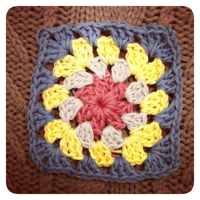 My first granny square