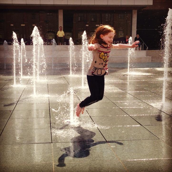 Fountain fun!