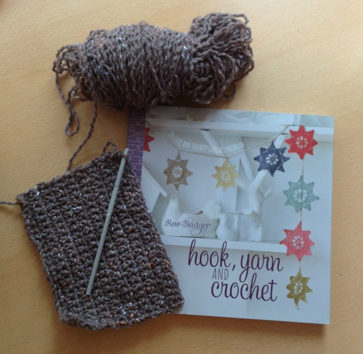 Hook yarn and crochet by Ros Badger