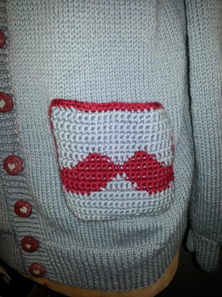 Moustachioed pocket