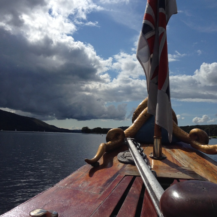Cruising on Coniston Water